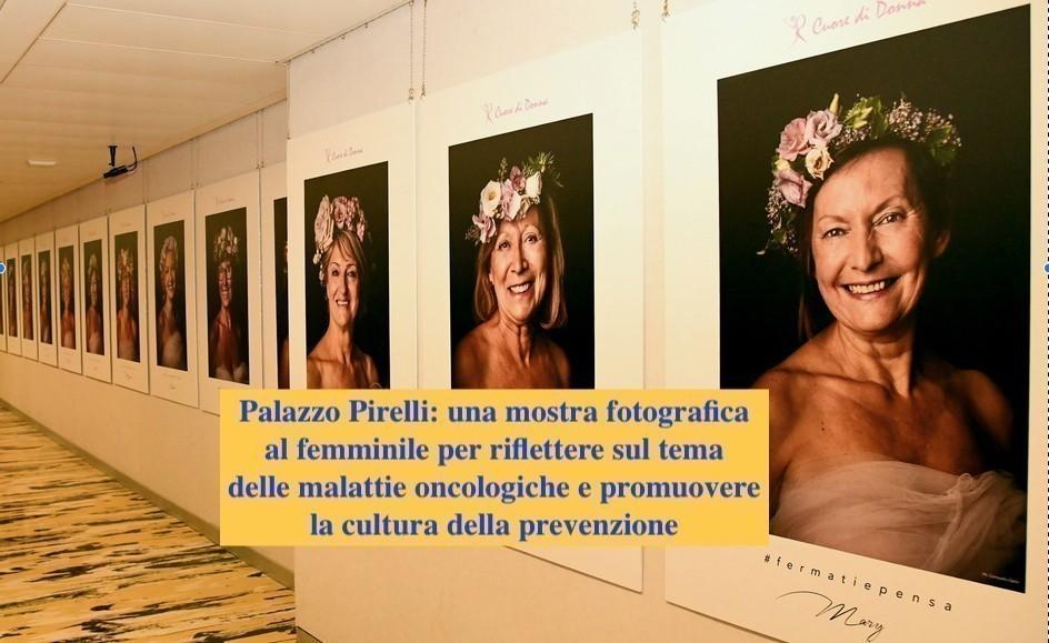 Cuore di donna in mostra a Milano