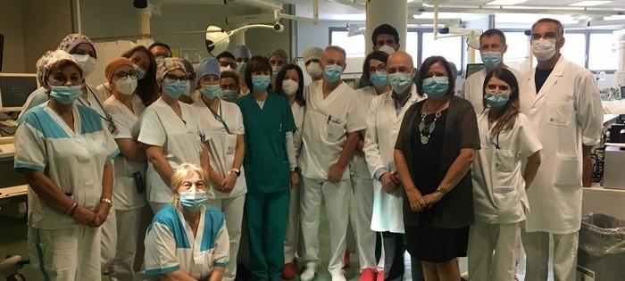 Bergamo, la terapia intensiva è Covid-free