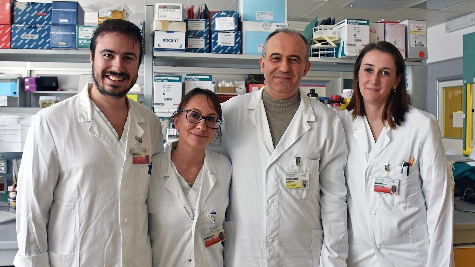 Da sinistra a destra: Alessandro De Vita, Laura Mercatali, Toni Ibrahim, Chiara Liverani