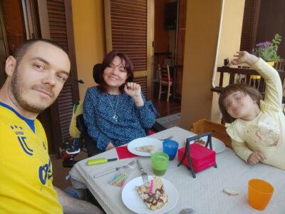 genitori con disabilità