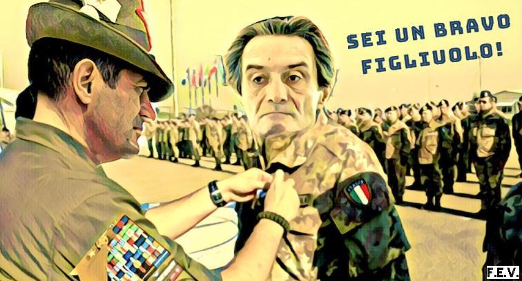 Fontana e Moratti: va male, ma siamo bravi…