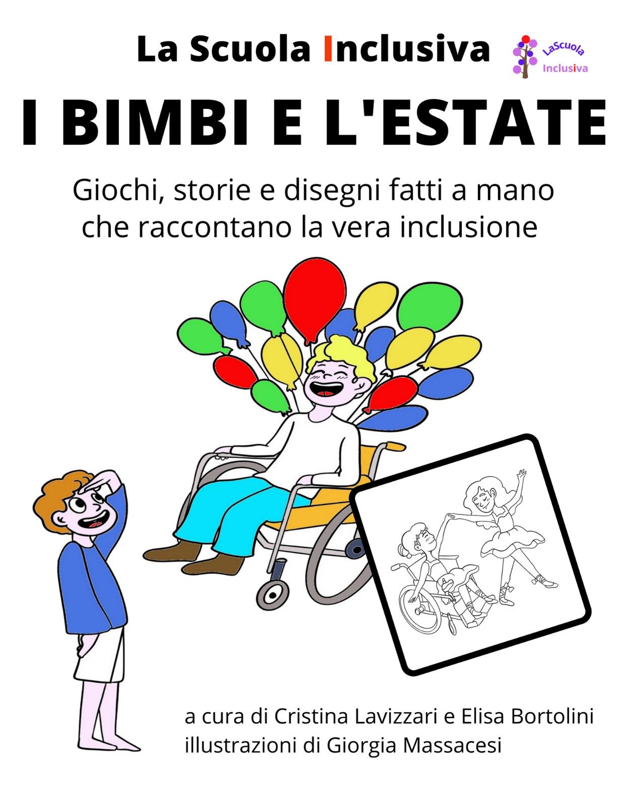L'inclusione diventa un libro da colorare